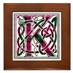 Monogram - Kerr Framed Tile