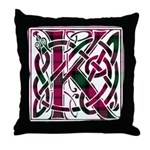 Monogram - Kerr Throw Pillow