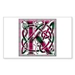 Monogram - Kerr Sticker (Rectangle)