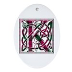 Monogram - Kerr Ornament (Oval)