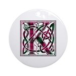 Monogram - Kerr Ornament (Round)