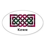 Knot - Kerr Sticker (Oval)