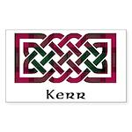 Knot - Kerr Sticker (Rectangle)