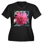 Indian Pink Plus Size T-Shirt