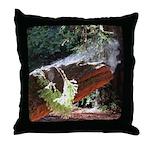 Rising Steam Throw Pillow