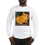 Orange Peel Fungi Long Sleeve T-Shirt