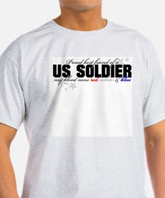 Red, white & blue Army Best F T-Shirt