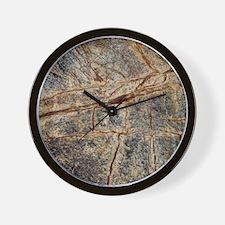 Cute Granite Wall Clock