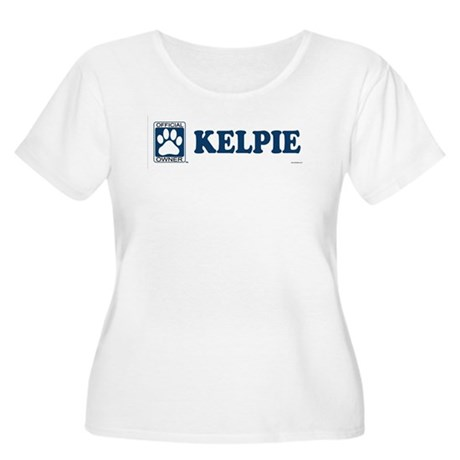 KELPIE Womens Plus-Size Scoop Neck T