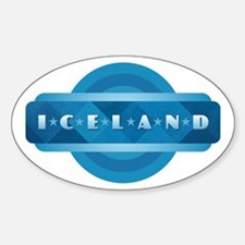 Iceland Blue Decal