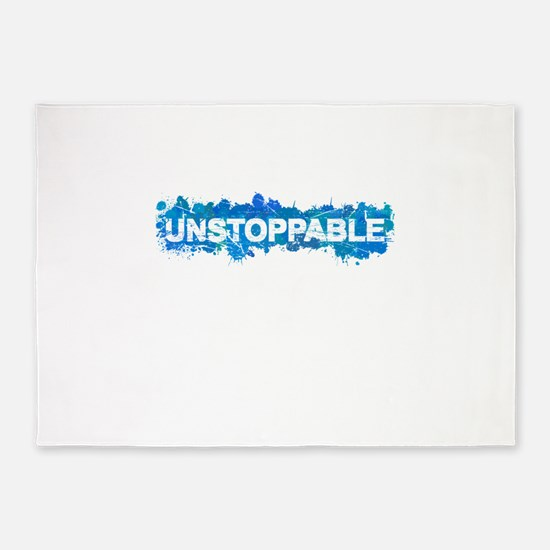 Unstoppable 5'x7'Area Rug
