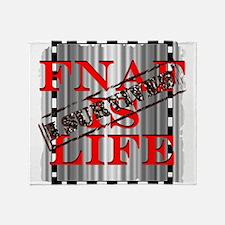 FNAF is life Throw Blanket