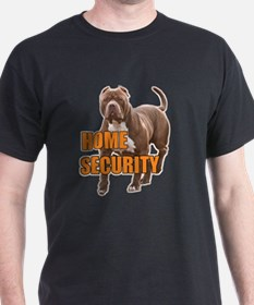 Home security pit bull T-Shirt
