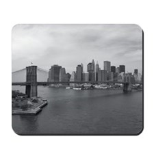 Brooklyn Span B&W Mousepad