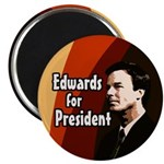 Edwards for President Campaign Magnet