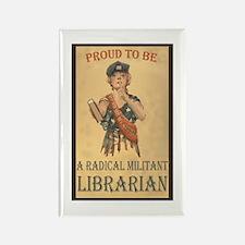 Radical Militant Librarian Magnets