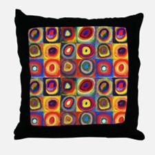 Color Study by Wassily Kandinsky Throw Pillow