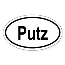 PUTZ Oval Decal