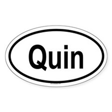QUIN Oval Decal