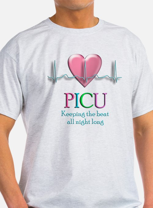 PICU Keeping the beat all night T-Shirt