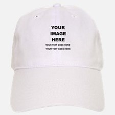 Your Photo and Text Here T Shirt Baseball Cap