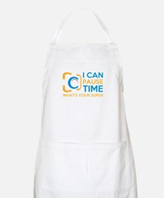 i can pause time, what's your superpower Apron