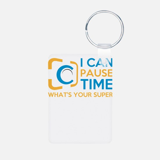 i can pause time, what's your superp Keychains