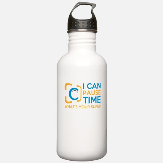 i can pause time, what Water Bottle