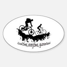 Mountain Biking Good Time Inspirational Qu Decal