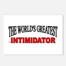 """""""The World's Greatest Intimidator"""" Postcards (Pack"""