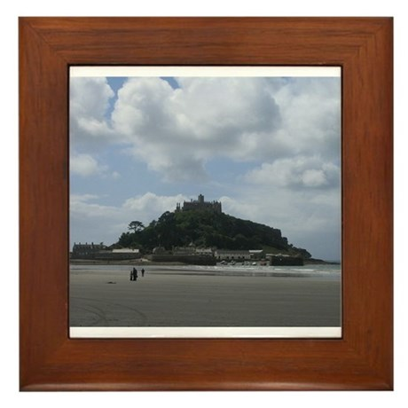 St. Michael's Mount, Cornwall Framed Tile