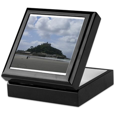 St. Michael's Mount, Cornwall Keepsake Box