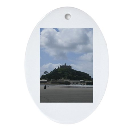 St. Michael's Mount, Cornwall Oval Ornament