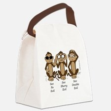 Cute Optometry Canvas Lunch Bag