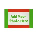 CUSTOMIZE with Your Photo Holiday Magnets