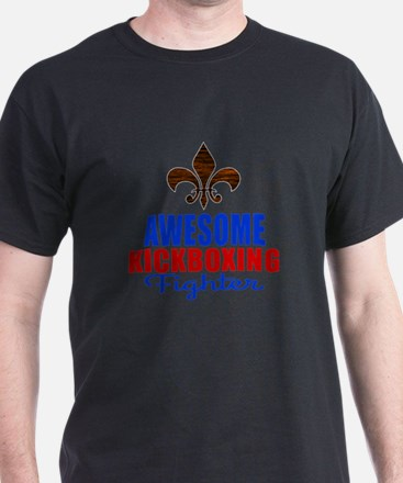 Awesome Kickboxing Fighter T-Shirt