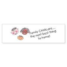 family childcare bumper sticker