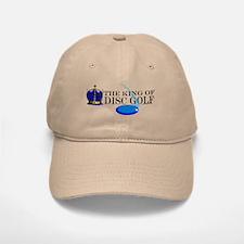 King of Disc Golf2 Baseball Baseball Cap