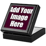 Upload image Square Keepsake Boxes