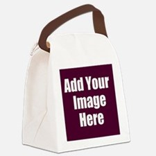 Add Your Image Here Canvas Lunch Bag