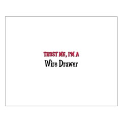 Trust Me I'm a Wire Drawer Posters