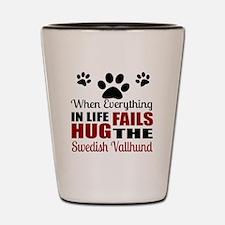 Hug The Swedish Vallhund Shot Glass