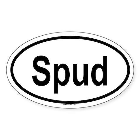 SPUD Oval Sticker