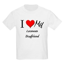 I Love My Leonean Boyfriend T-Shirt