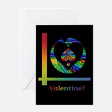 The Heart Within Valentine Greeting Card