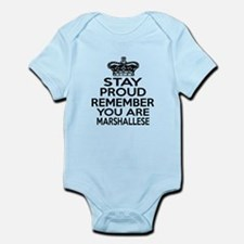 Stay Proud Remember You Are Marsha Infant Bodysuit