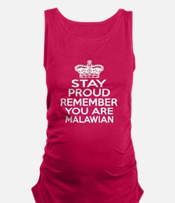 Stay Proud Remember You Are Mal Maternity Tank Top