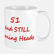 51 Still Turning Heads 2 Red Mugs
