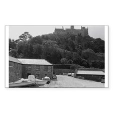 St. Michael's Mount, Cornwall Sticker (Rectangular