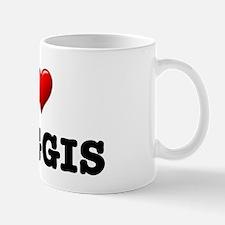I LOVE - HAGGIS Mugs